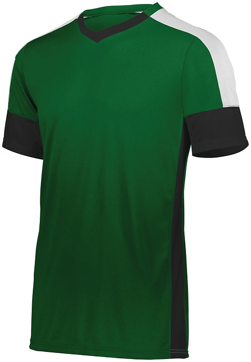 WEMBLEY SOCCER JERSEY Forest Green/Black/White 148