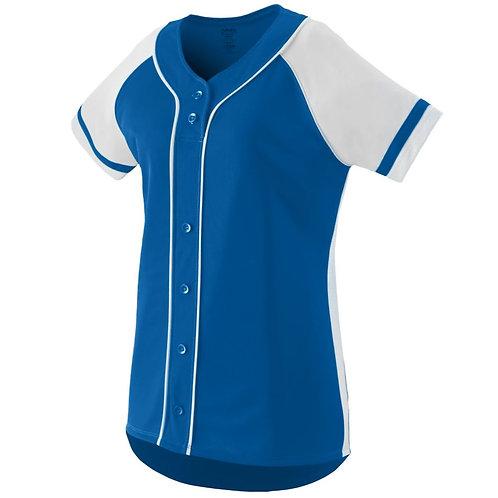 Girls WINNER JERSEY Royal Blue/White 280