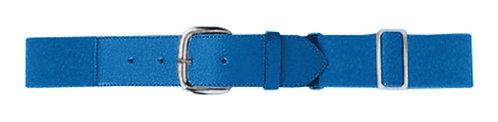 Adult ELASTIC BASEBALL BELT Royal Blue 060