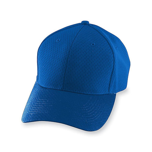 Youth ATHLETIC MESH CAP Royal Blue 060