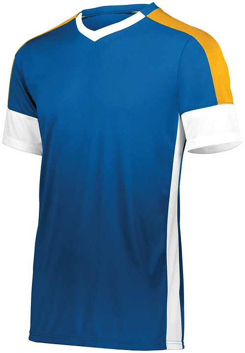WEMBLEY SOCCER JERSEY Royal Blue/White/Athletic Gold Y80