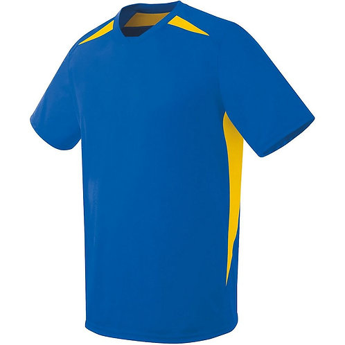 Youth HAWK JERSEY Royal Blue/Athletic Gold W84