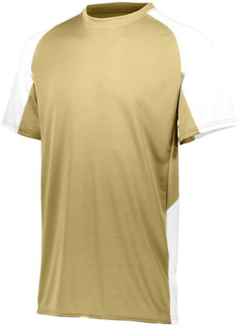 Boy's Cutter Jersey Vegas Gold/White 250