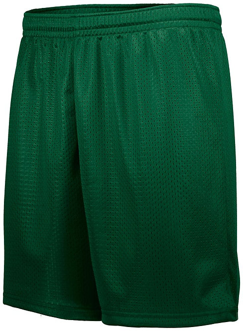 Adult TRICOT MESH SHORTS Dark Green 035