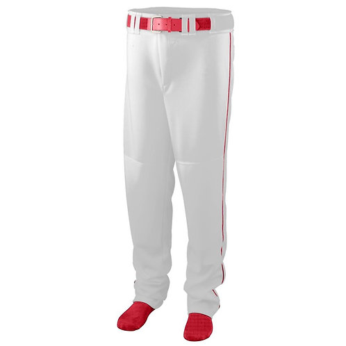 SERIES PANT with PIPING White/Red 225
