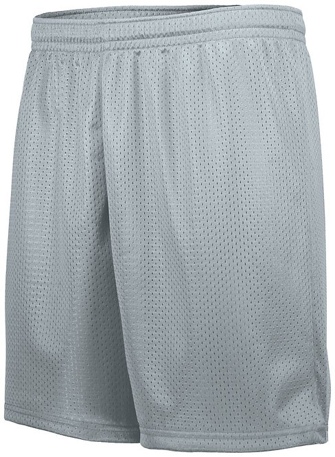 Youth TRICOT LINED MESH  Silver 099