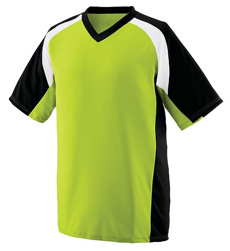 YOUTH NITRO JERSEY Lime/Black/White 680