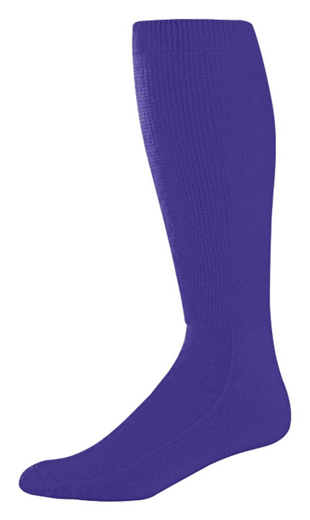 WICKING ATHLETIC SOCK Purple 050