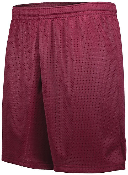 Youth TRICOT LINED MESH  Maroon (Hlw) 745