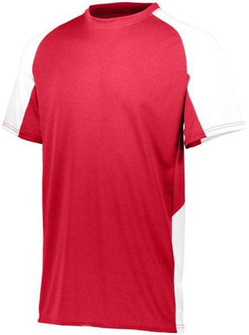 Cutter Jersey Red/White 400