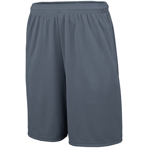 TRAINING SHORTS WITH POCKETS Graphite 059