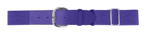 Youth ELASTIC BASEBALL BELT Purple 050