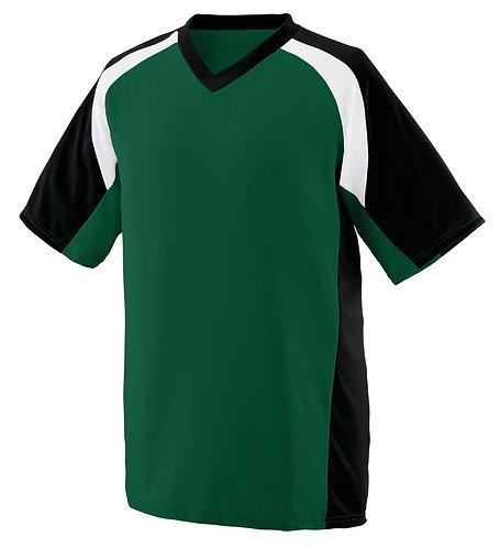 YOUTH NITRO JERSEY Dark Green/Black/White 520