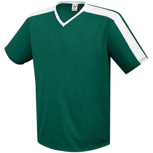 Youth GENESIS JERSEY Forest Green/White 436