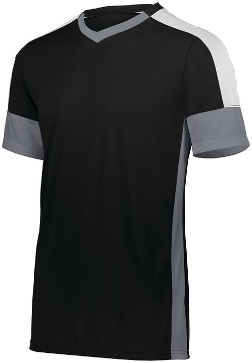 WEMBLEY SOCCER JERSEY Black/Graphite/White 489