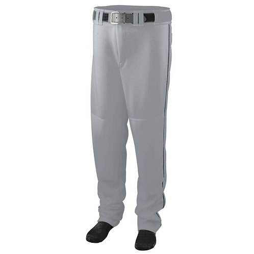 SERIES PANT with PIPING Silver Grey/Black 470