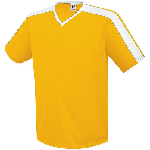 Youth GENESIS JERSEY Athletic Gold/White 596