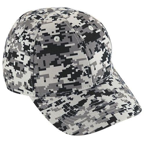 Youth CAMO COTTON TWILL CAP Black Digi 01G