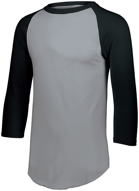 BASEBALL JERSEY 2.0 Athletic Heather/Black 158