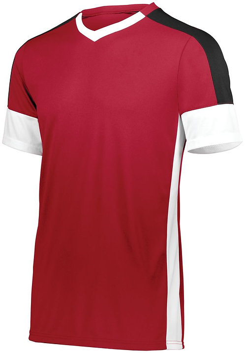 Youth WEMBLEY SOCCER JERSEY Scarlet/White/Black 588