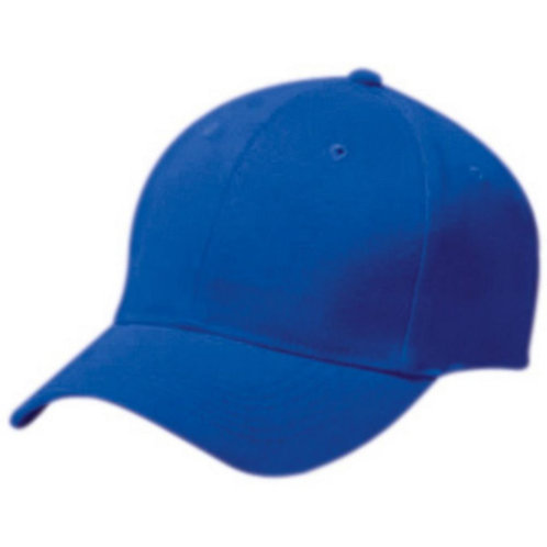 Adult COTTON TWILL SIX PANEL CAP Royal Blue 060