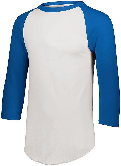 BASEBALL JERSEY 2.0 White/Royal Blue 220