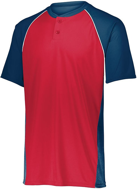 Men's LIMIT JERSEY Navy Blue/Red/White 518