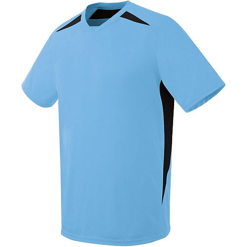 Ladies HAWK JERSEY Columbia Blue/Black 292