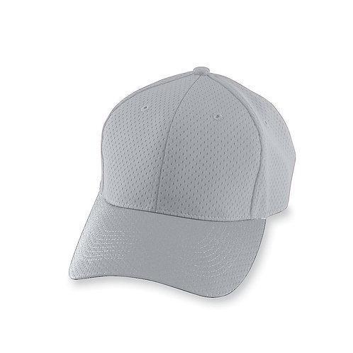 Youth ATHLETIC MESH CAP Silver Grey 016