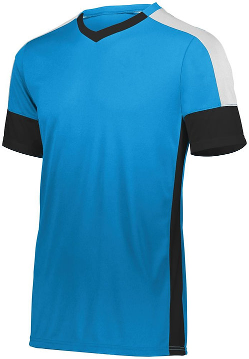 Youth WEMBLEY SOCCER JERSEY Power Blue/Black/White 837