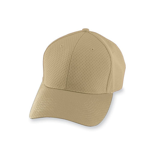 Adult ATHLETIC MESH CAP Vegas Gold 023