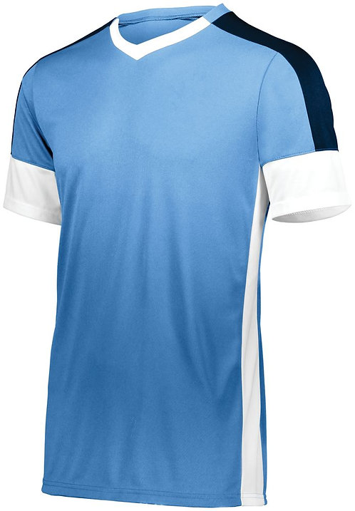 Youth WEMBLEY SOCCER JERSEY Columbia Blue/White/Navy 533