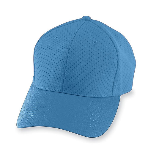 Youth ATHLETIC MESH CAP Columbia Blue 089