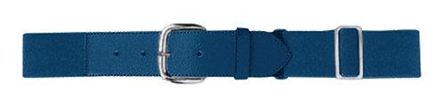 Adult ELASTIC BASEBALL BELT Navy Blue 065
