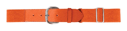 Youth ELASTIC BASEBALL BELT Orange 029