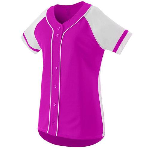Girls WINNER JERSEY Power Pink/White 468