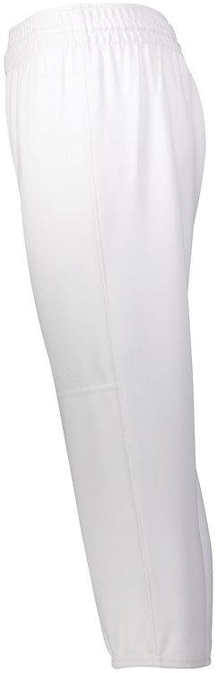 Youth PULL-UP BASEBALL PANT White 005