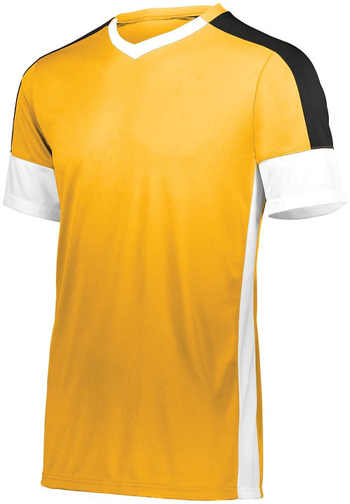 Youth WEMBLEY SOCCER JERSEY Athletic Gold/White/Black 661