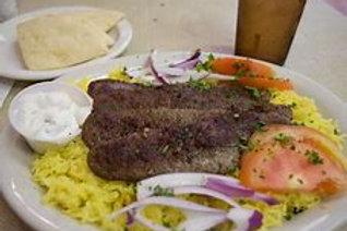 Lamb/Mutton Kebab plate