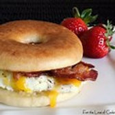 Egg cheese Bagel with Bacon