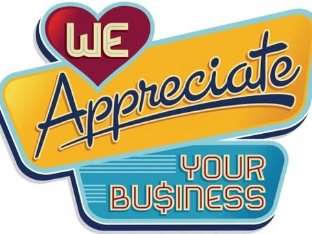 Annual Customer Appreciation Day!