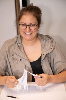 Olga Wolf Goldschmiedin in Ausbildung