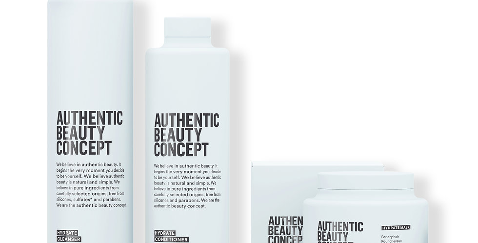 AUTHENTIC BEAUTY CONCEPT PROMO KIT HYDRATE