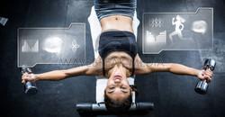 Female Gym interfaces