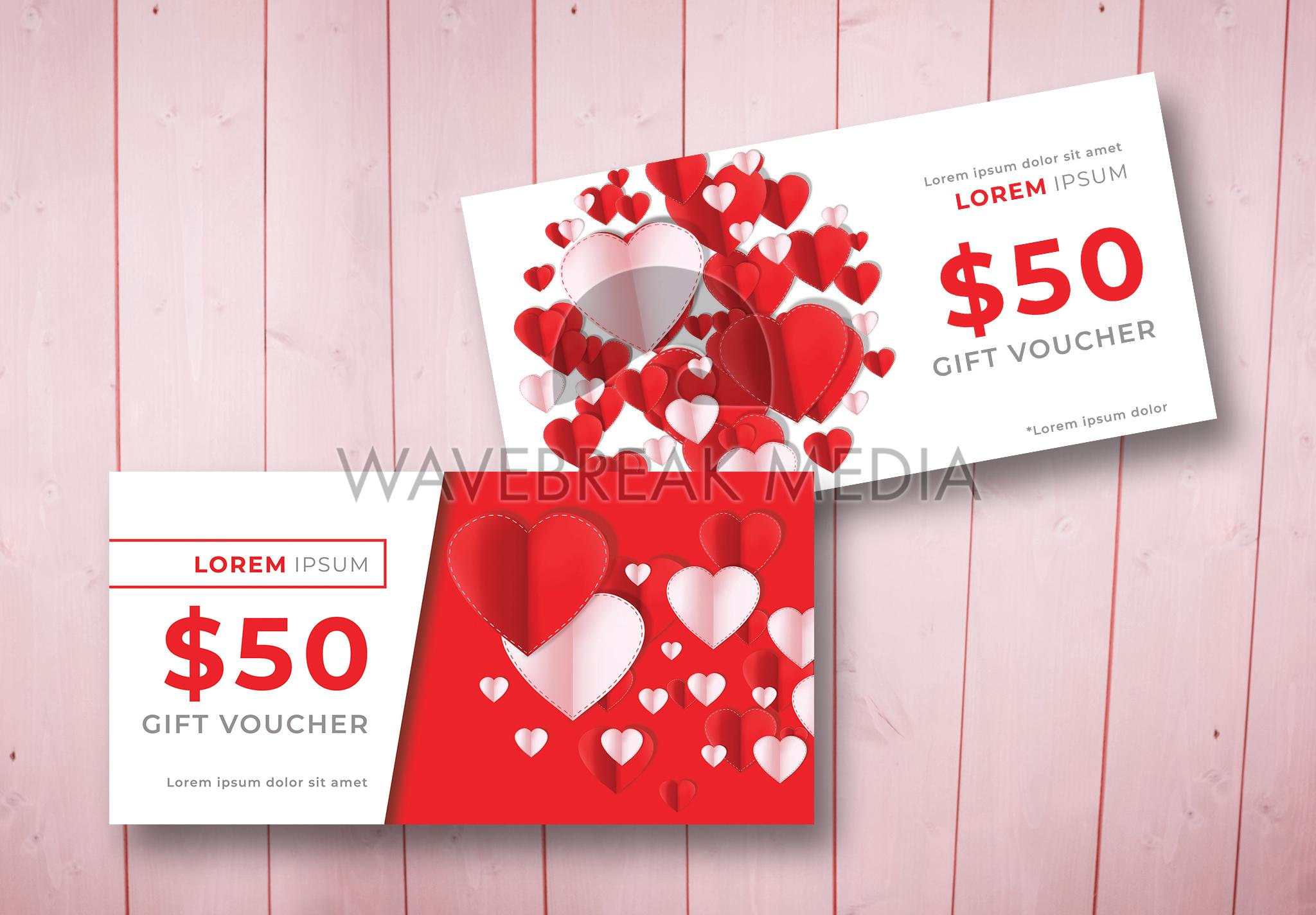 Valentines Gift Vouchers