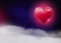 Single Illuminated Hearts