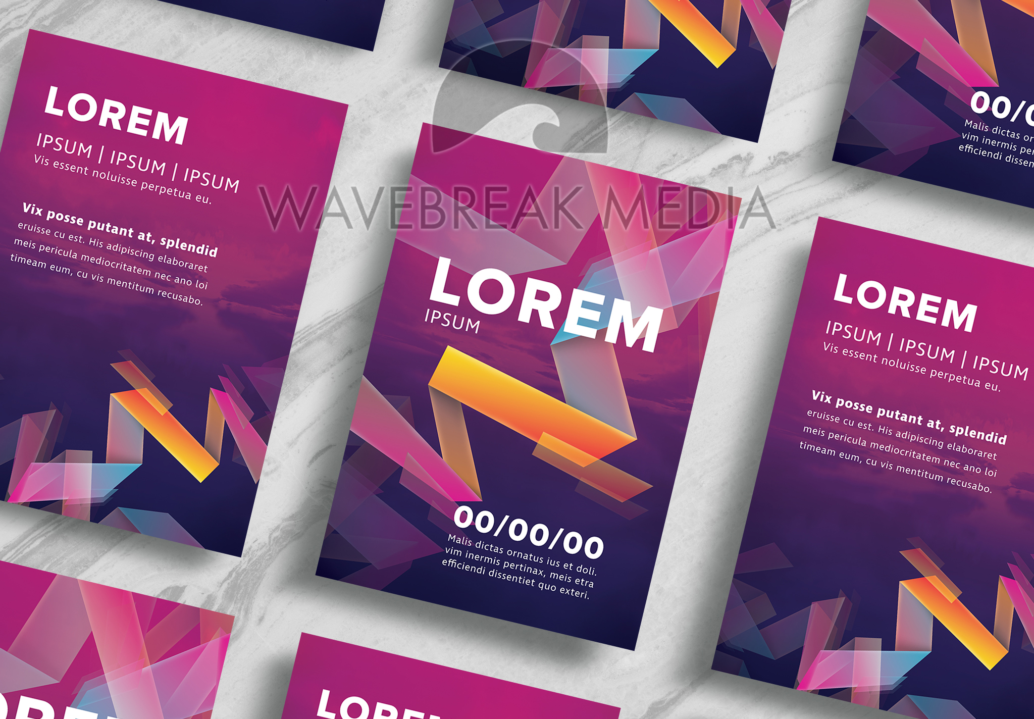 Gradient Shapes Flyer