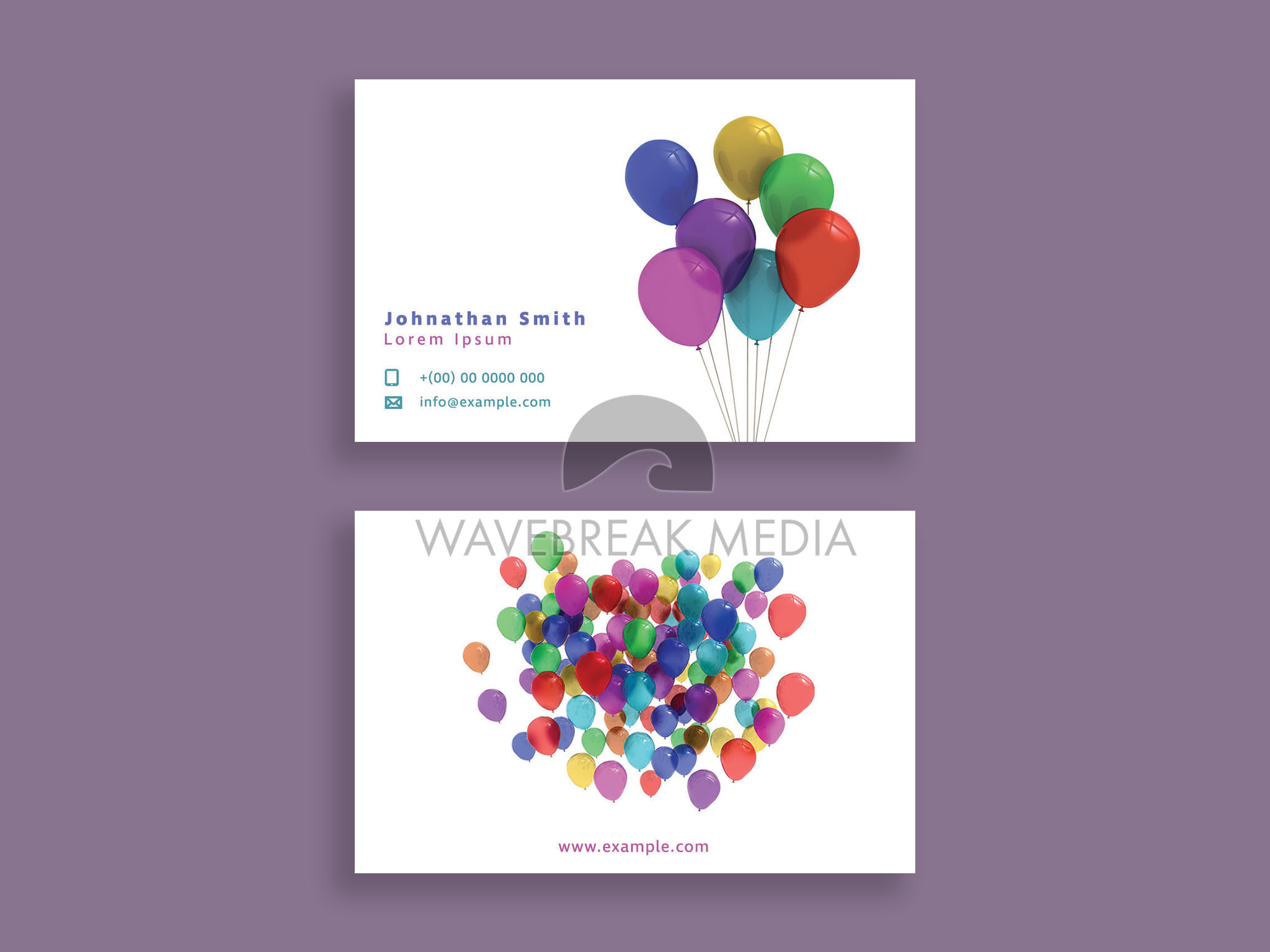 Balloon Business Card