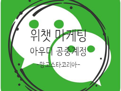 중국 온라인마케팅 망고스타, 위챗 공중계정 마케팅 아우디 차량호출서비스