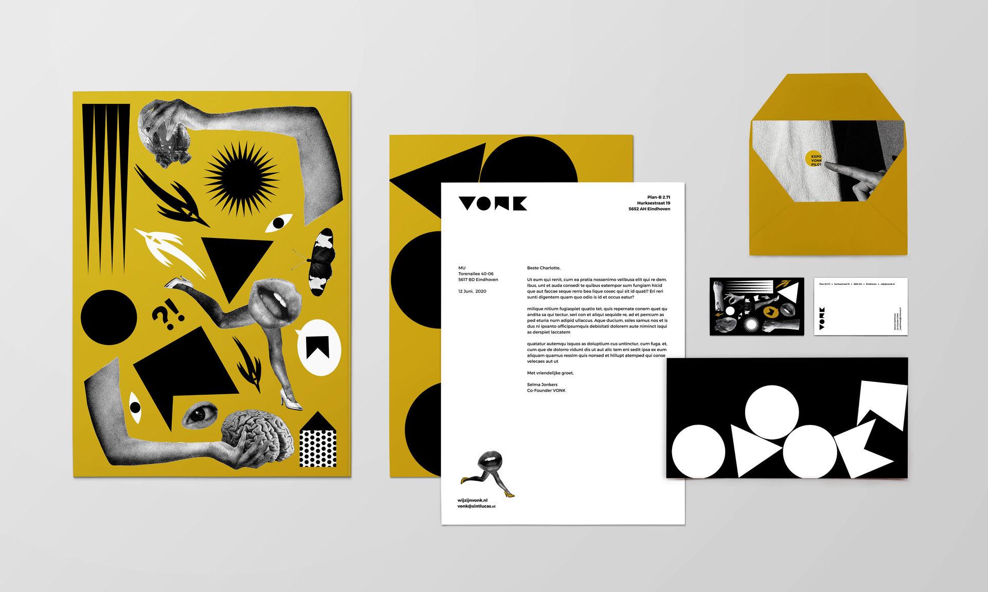 VONK Branding Stationery